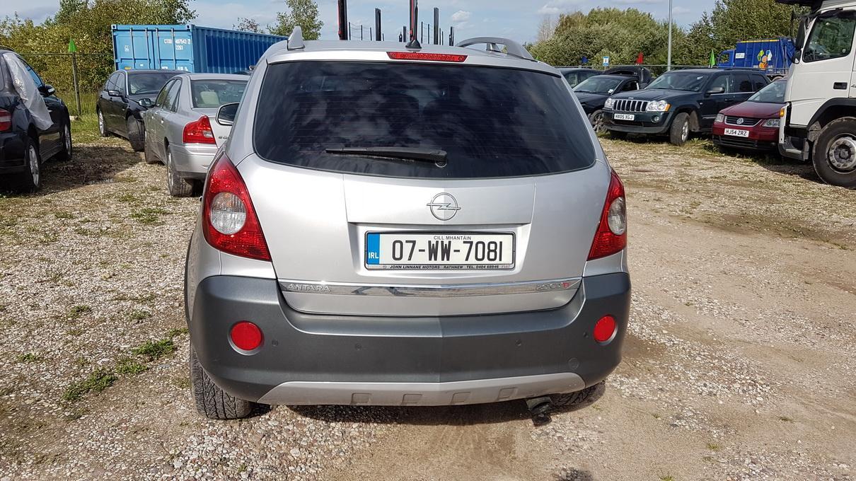 Naudotos automobilio dalys Opel ANTARA 2008 2.0 Automatinė Visureigis 4/5 d. Pilka 2017-9-14