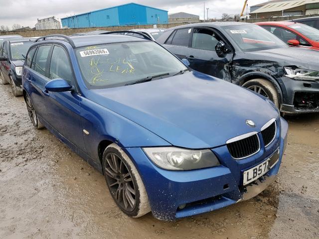 Подержанные Автозапчасти BMW 3-SERIES 2008 2.0 машиностроение универсал 4/5 d. синий 2019-12-13