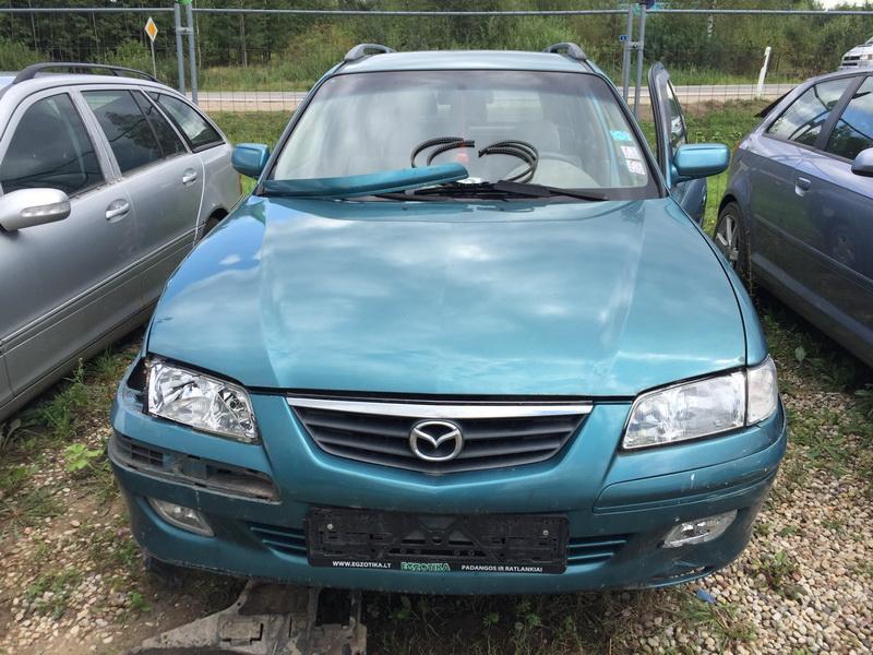 Naudotos automobilio dalys Mazda 626 2000 2.0 Mechaninė Universalas 4/5 d. Zalia 2018-8-11