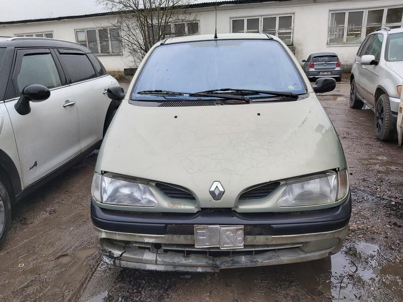 Naudotos automobilio dalys Renault SCENIC 1998 1.9 Mechaninė Vienatūris 4/5 d. Zalia 2020-1-29