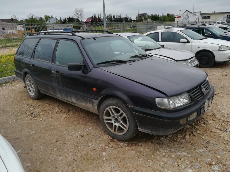 Подержанные Автозапчасти Foto 3 Volkswagen PASSAT 1994 1.9 машиностроение универсал 4/5 d. фиолетовый 2019-5-14 A4492