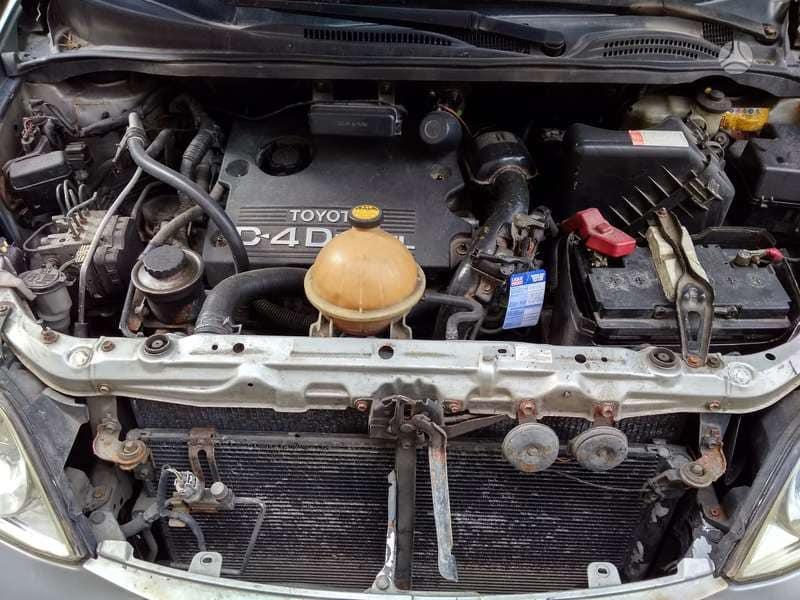 Naudotos automobiliu dallys Foto 5 Toyota AVENSIS VERSO 2005 2.0 Mechaninė Vienatūris 4/5 d. Sidabrine 2018-10-02 A4103