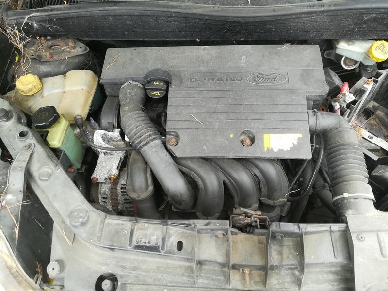 Naudotos automobiliu dallys Foto 2 Ford FUSION 2002 1.6 Mechaninė Hečbekas 4/5 d. Melyna 2019-5-27 A4516