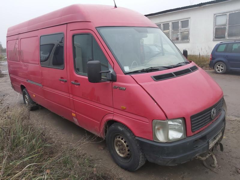 Naudotos automobilio dalys Volkswagen LT 2003 2.8 Mechaninė Krovininis mikroautobusas 2/3 d. Raudona 2020-11-10