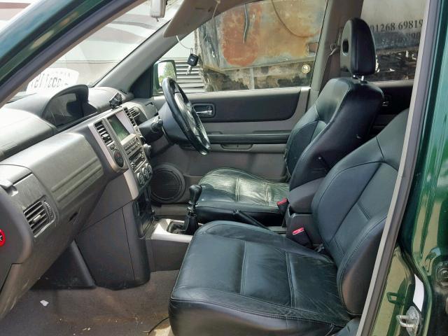 Naudotos automobiliu dallys Foto 7 Nissan X-TRAIL 2005 2.2 Mechaninė Visureigis 4/5 d. Zalia 2019-7-25 A4651