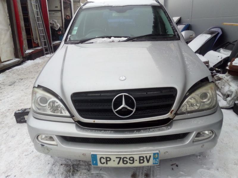 Naudotos automobiliu dallys Foto 2 Mercedes-Benz ML-CLASS 2002 2.7 Automatinė Visureigis 4/5 d. Sidabrine 2018-2-13 A3626