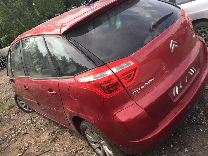 Naudotos automobilio dalys Citroen C4 PICASSO 2010 1.6 Mechaninė Vienatūris 4/5 d. Raudona 2018-6-04