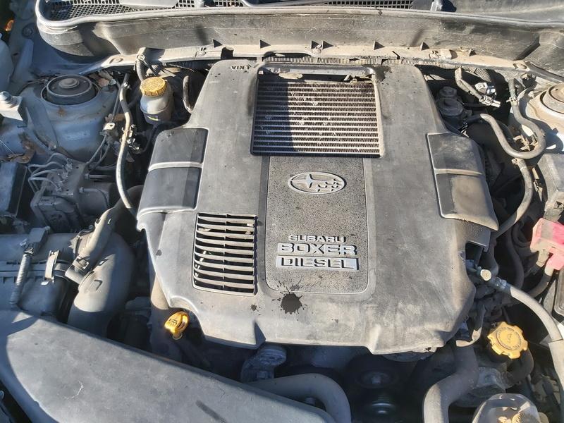 Naudotos automobiliu dallys Foto 2 Subaru FORESTER 2008 2.0 Mechaninė Visureigis 4/5 d. Zalia 2020-1-31 A5043