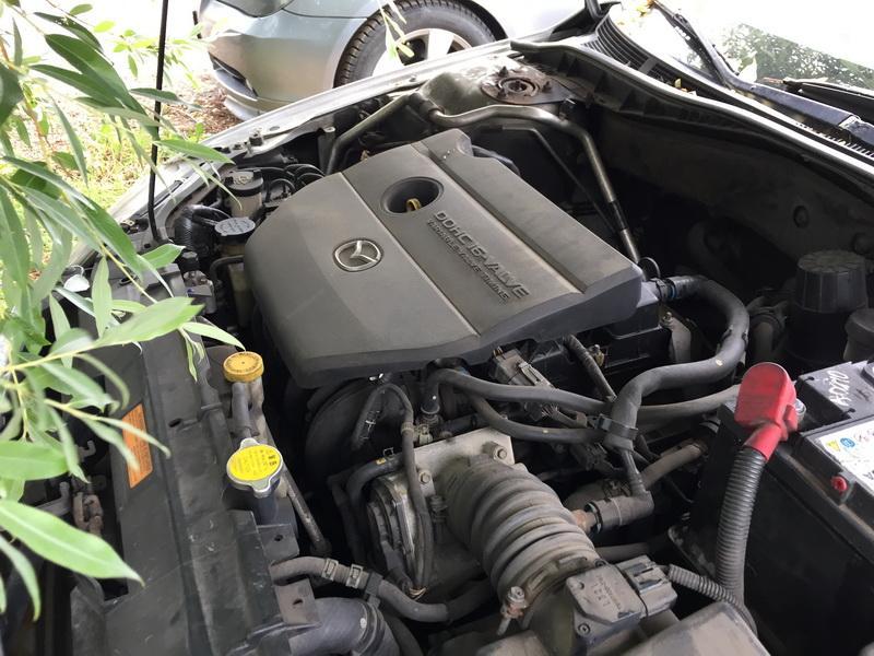 Naudotos automobiliu dallys Foto 2 Mazda 6 2002 2.3 Automatinė Sedanas 4/5 d. Sidabrine 2018-6-12 A3860