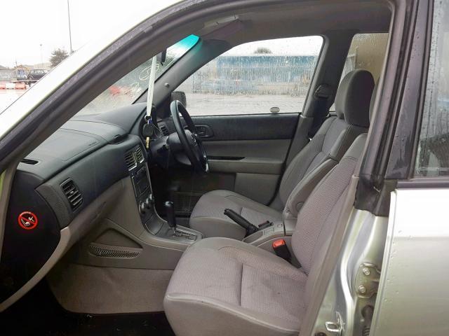 Naudotos automobiliu dallys Foto 8 Subaru FORESTER 2003 2.0 Automatinė Visureigis 4/5 d. Sidabrine 2019-6-27 A4584