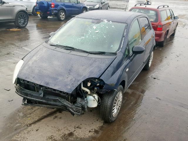 Naudotos automobilio dalys Fiat GRANDE PUNTO 2007 1.2 Mechaninė Hečbekas 4/5 d. Melyna 2019-2-06