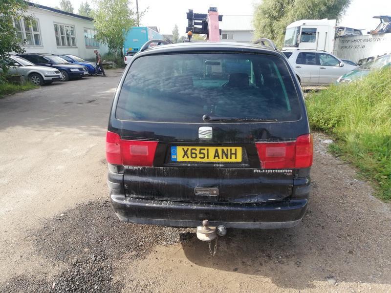 Naudotos automobiliu dallys Foto 5 Seat ALHAMBRA 2001 1.9 Mechaninė Vienatūris 4/5 d. Juoda 2019-9-05 A4732