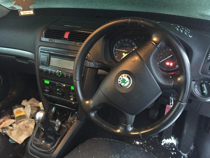 Naudotos automobiliu dallys Foto 5 Skoda OCTAVIA 2007 1.9 Mechaninė Hečbekas 4/5 d. Pilka 2019-1-22 A4267