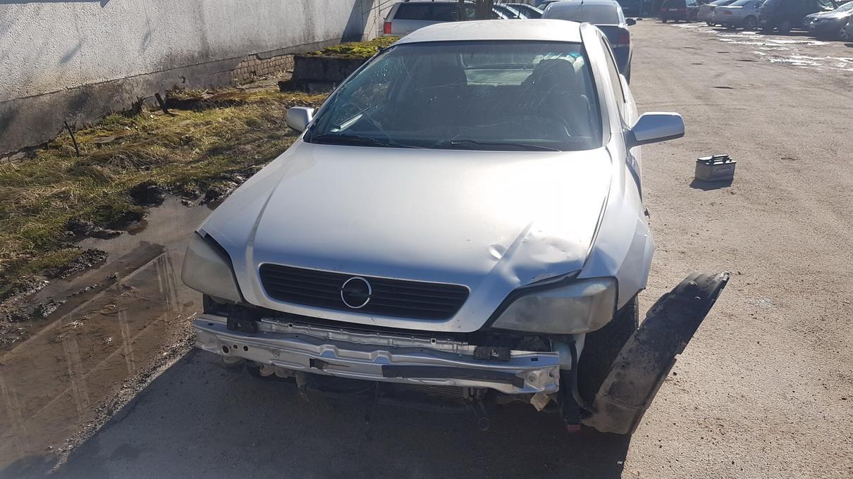 Naudotos automobilio dalys Opel ASTRA 1998 1.4 Mechaninė Hečbekas 2/3 d. Pilka 2017-4-04