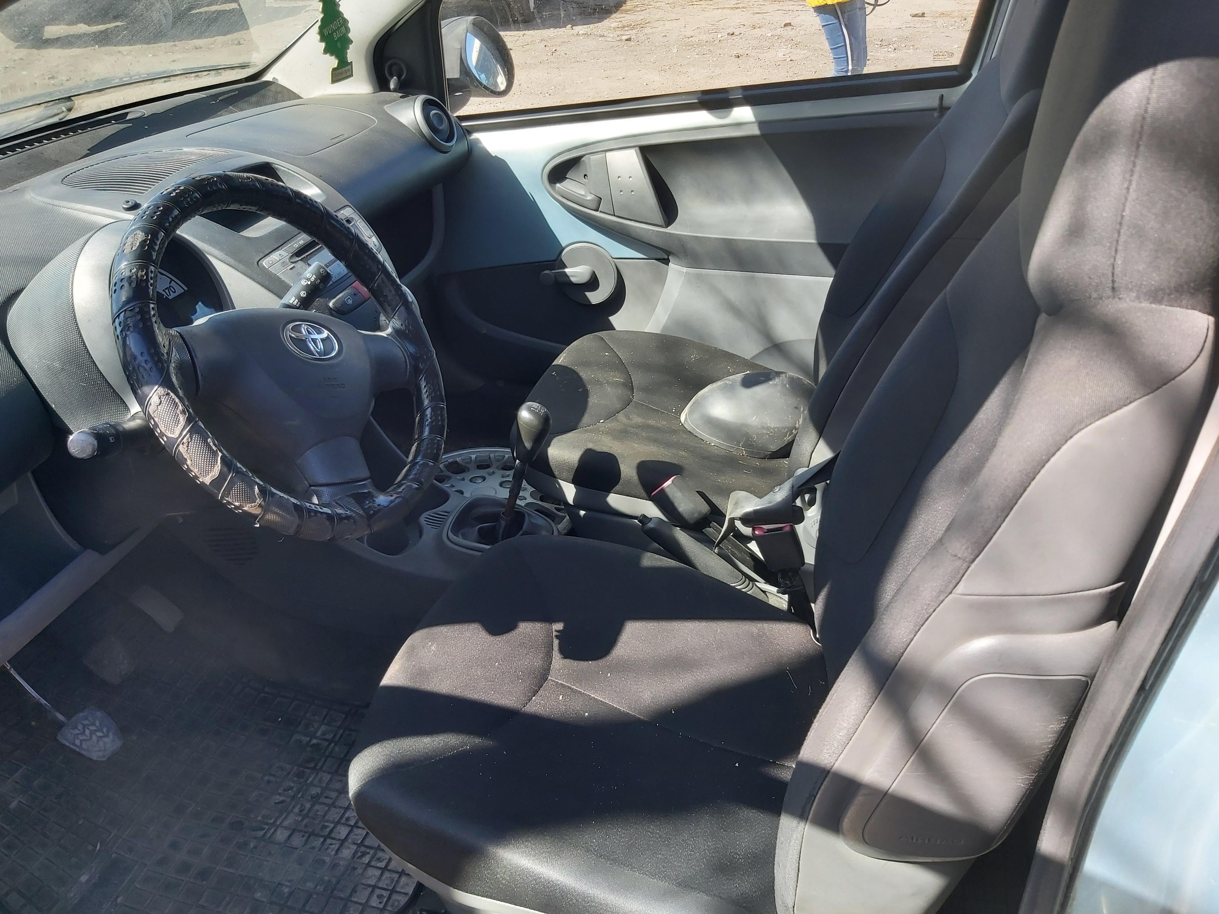 Used Car Parts Toyota AYGO 2008 1.0 Mechanical Hatchback 2/3 d. Cerulean 2020-4-22