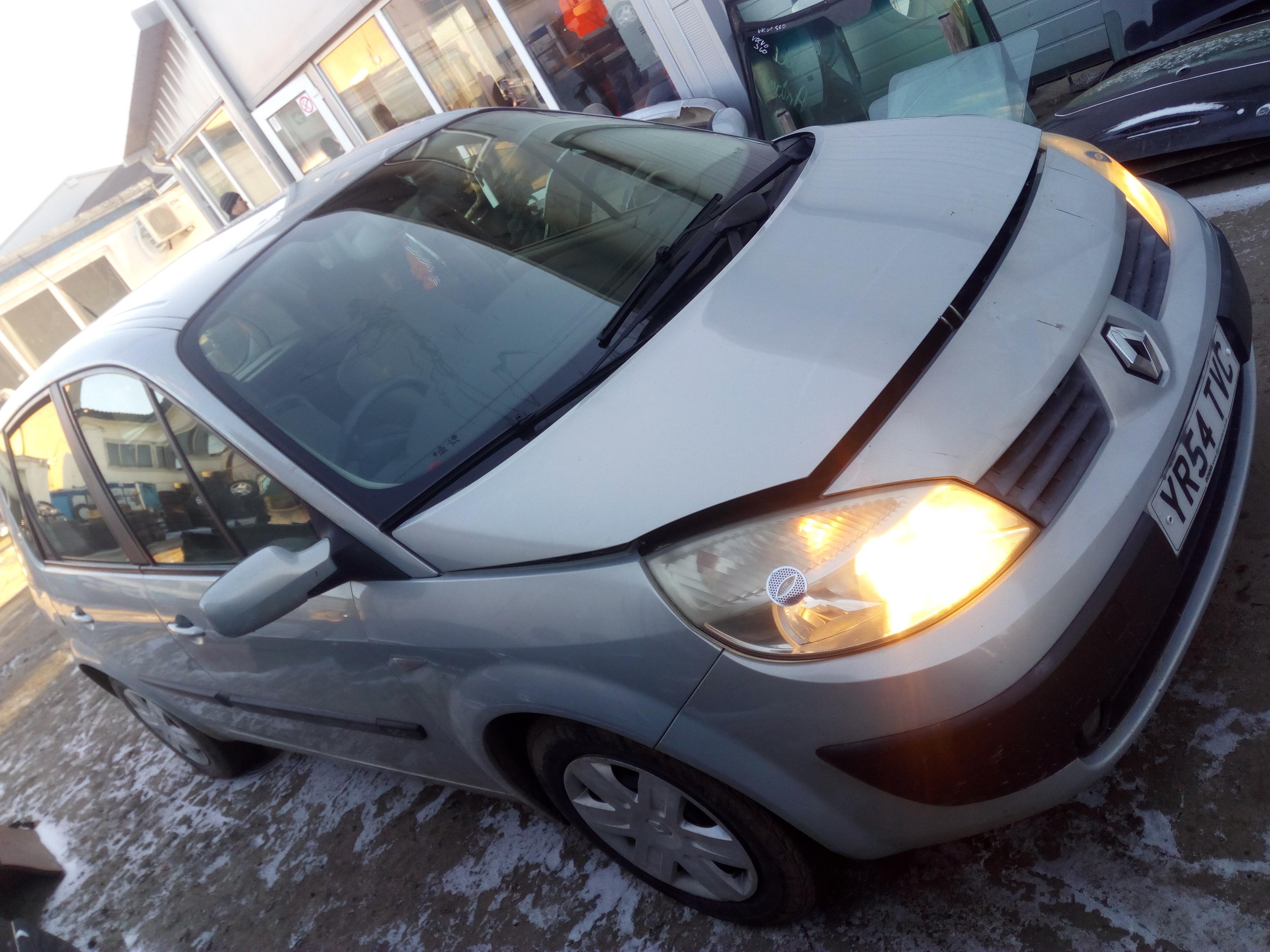 Renault SCENIC 2004 1.5 машиностроение