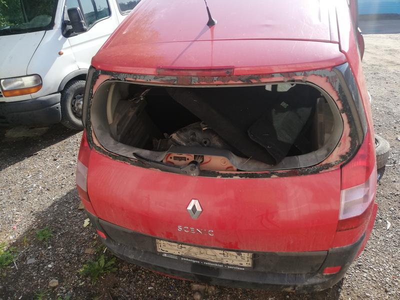 Naudotos automobiliu dallys Foto 2 Renault SCENIC 2004 1.5 Mechaninė Vienatūris 4/5 d. Raudona 2019-9-07 A4734