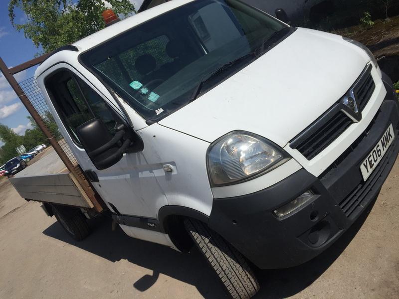 Naudotos automobilio dalys Opel MOVANO 2006 2.5 Mechaninė Krovininis mikroautobusas 2/3 d. Balta 2018-5-16