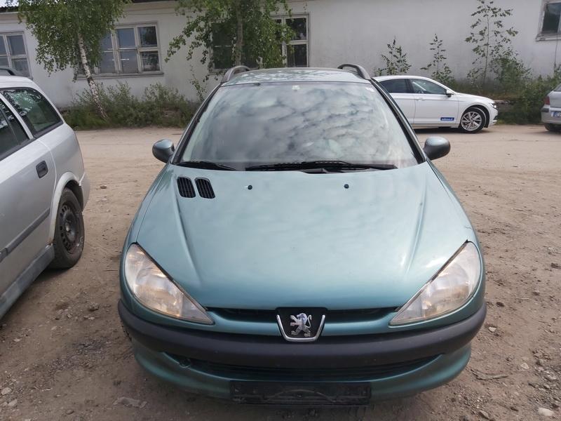 Naudotos automobiliu dallys Foto 3 Peugeot 206 2003 1.4 Mechaninė Universalas 4/5 d. Zalia 2020-7-27 A5464