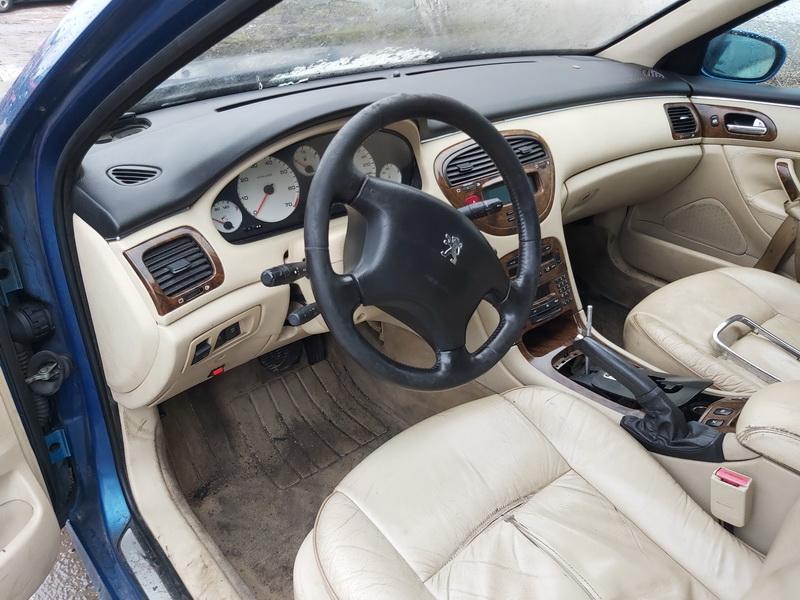Naudotos automobilio dalys Peugeot 607 2000 3.0 Automatinė Sedanas 4/5 d. Melyna 2020-1-07