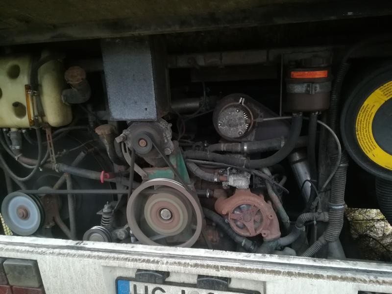 Naudotos automobiliu dallys Foto 2 Bus - Volvo B6 1993 5.5 Automatinė Kita 2/3 d. Balta 2019-11-28 A4933