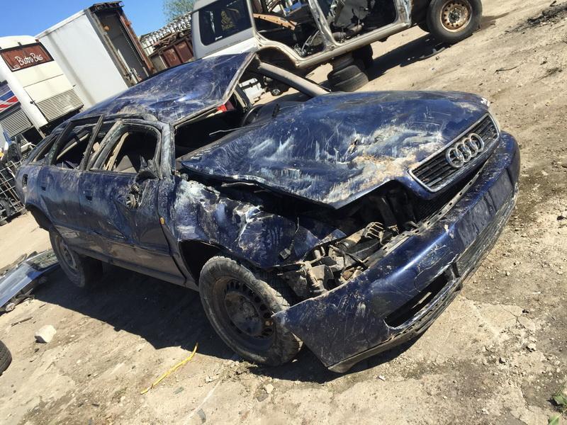 Naudotos automobilio dalys Audi A4 1998 2.5 Mechaninė Universalas 4/5 d. Melyna 2018-5-07