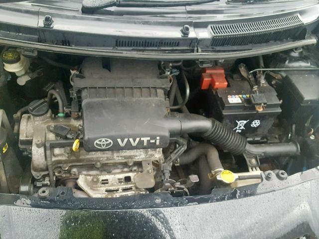 Naudotos automobiliu dallys Foto 7 Toyota YARIS 2006 1.3 Mechaninė Hečbekas 2/3 d. Juoda 2018-12-07 A4225