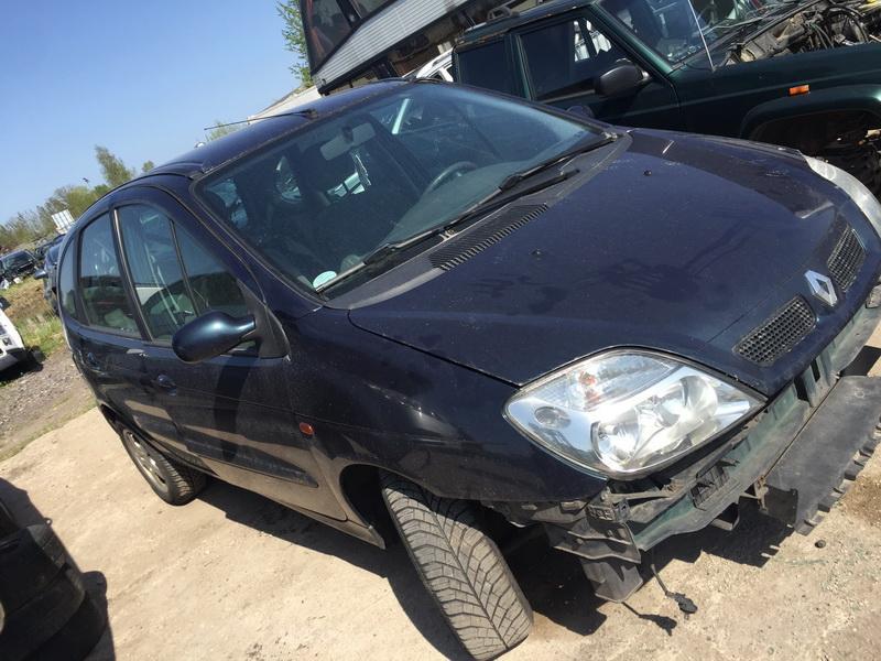 Naudotos automobilio dalys Renault SCENIC 2003 1.6 Mechaninė Vienatūris 4/5 d. Zalia 2018-4-30