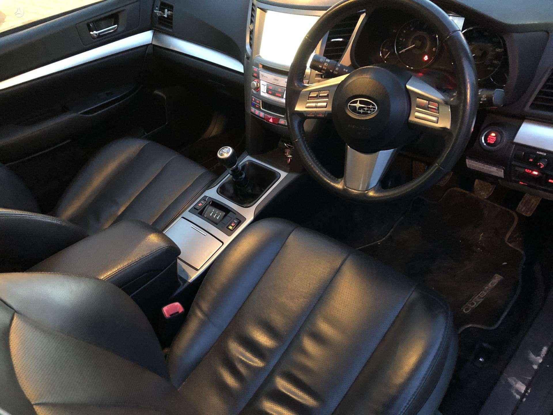 Naudotos automobilio dalys Subaru OUTBACK 2011 2.0 Mechaninė Universalas 4/5 d. Juoda 2020-3-19