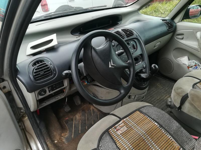 Naudotos automobilio dalys Citroen XSARA PICASSO 2003 2.0 Mechaninė Vienatūris 4/5 d. Sidabrine 2019-10-08