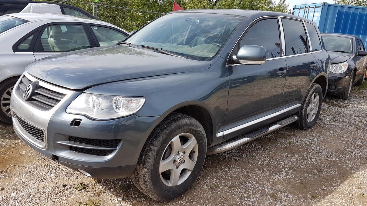 Naudotos automobilio dalys Volkswagen TOUAREG 2008 3.6 Automatinė Visureigis 4/5 d. Pilka 2017-9-14