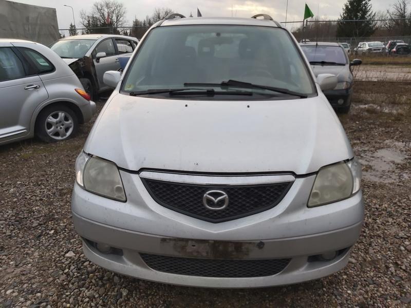 Naudotos automobilio dalys Mazda MPV 2003 2.0 Mechaninė Vienatūris 4/5 d. Pilka 2019-12-14