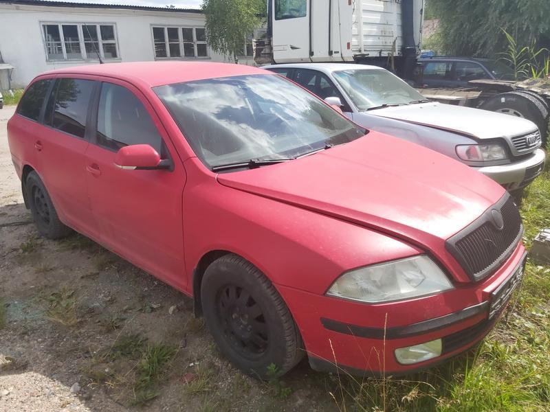 Naudotos automobilio dalys Skoda OCTAVIA 2006 1.9 Mechaninė Universalas 4/5 d. Raudona 2020-7-15