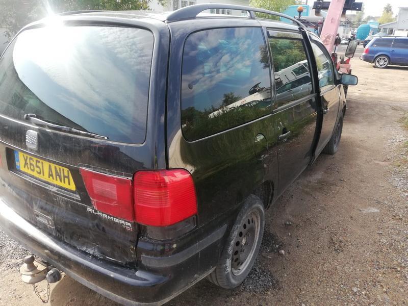 Naudotos automobiliu dallys Foto 4 Seat ALHAMBRA 2001 1.9 Mechaninė Vienatūris 4/5 d. Juoda 2019-9-05 A4732