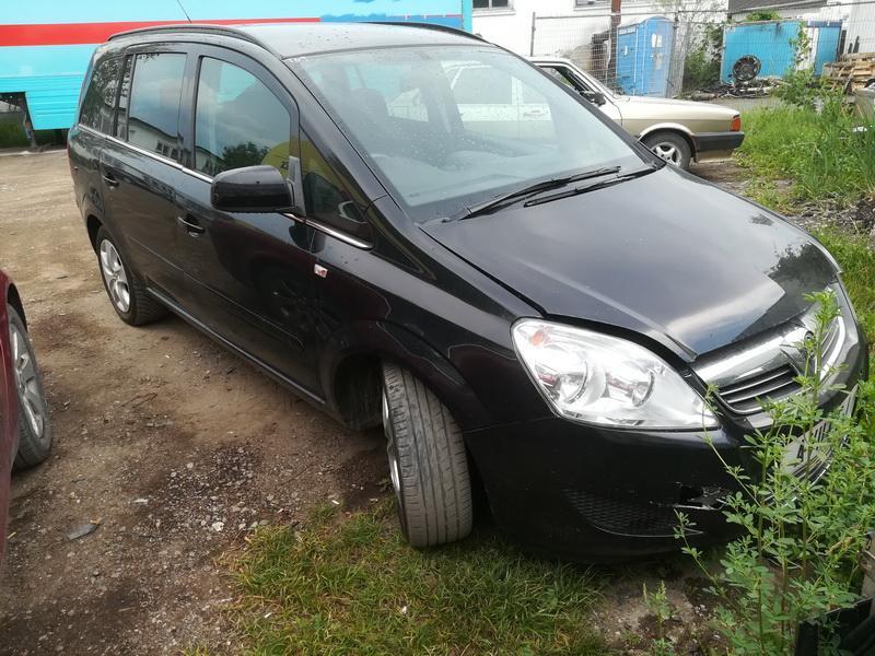 Naudotos automobilio dalys Opel ZAFIRA 2011 1.6 Mechaninė Vienatūris 4/5 d. Juoda 2019-6-13
