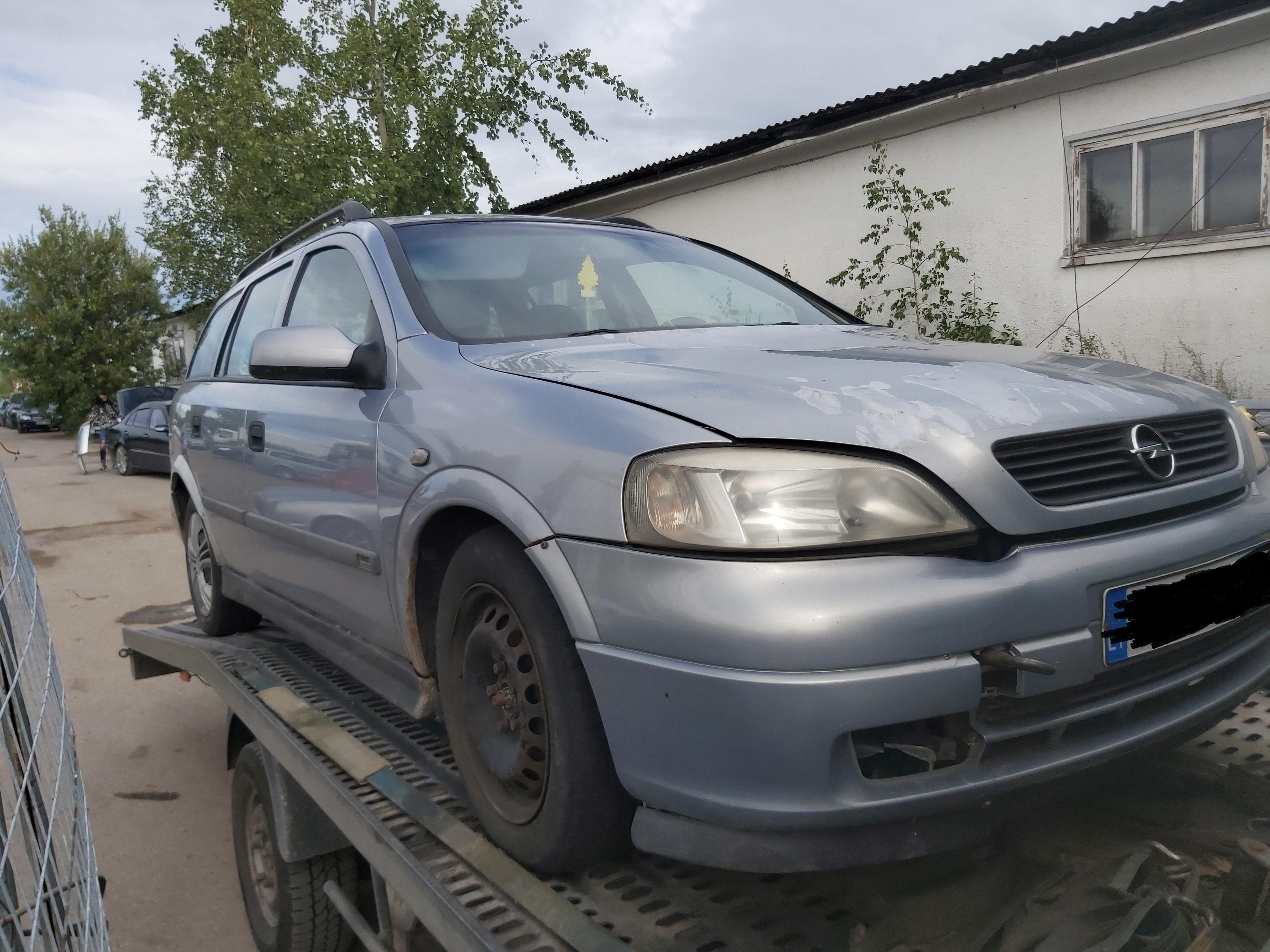 Used Car Parts Foto 1 Opel ASTRA 2000 2.0 Mechanical Universal 4/5 d. Grey 2020-7-30 A5479