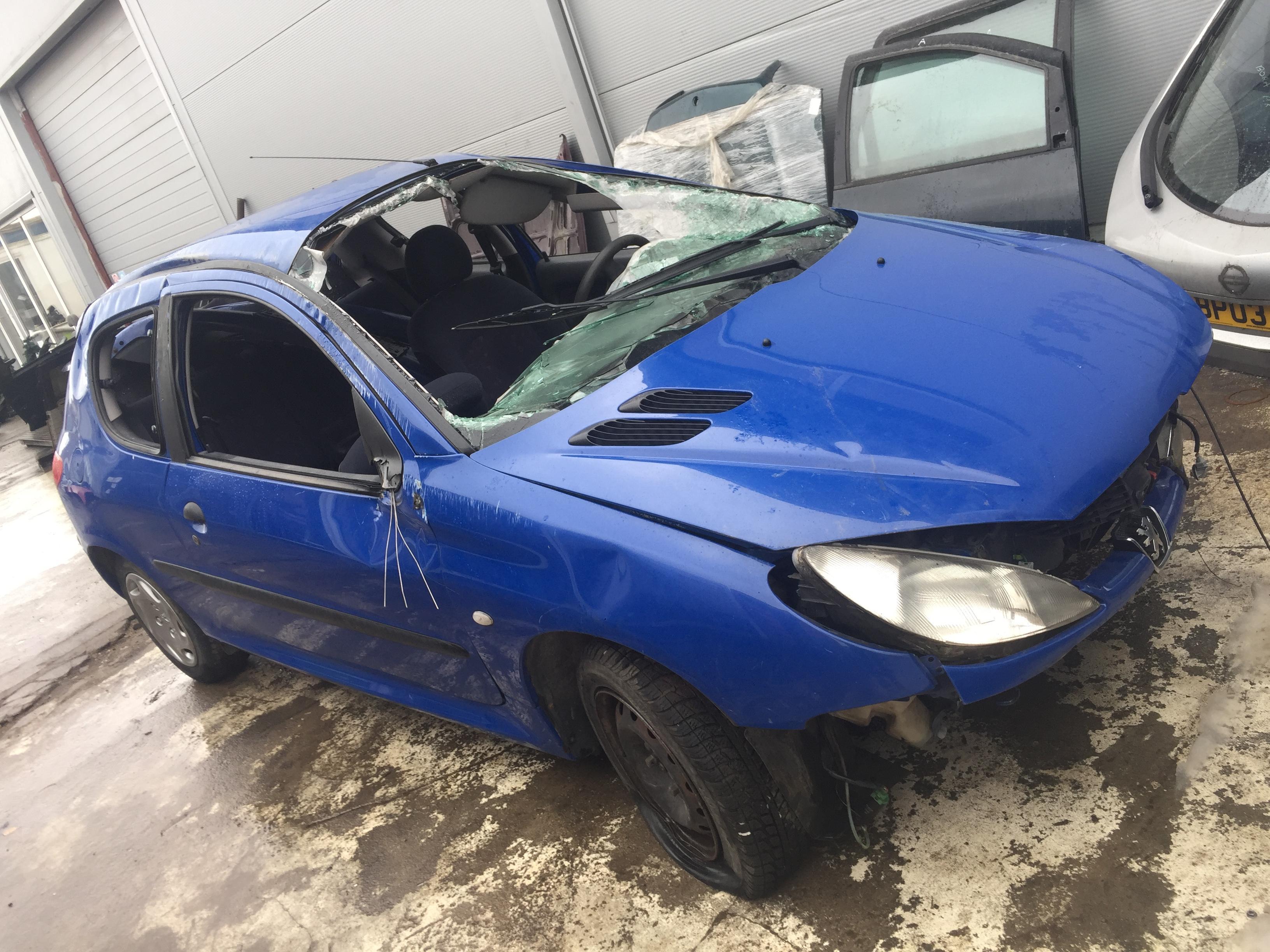 Naudotos automobilio dalys Peugeot 206 1999 1.1 Mechaninė Hečbekas 2/3 d. Melyna 2017-10-26