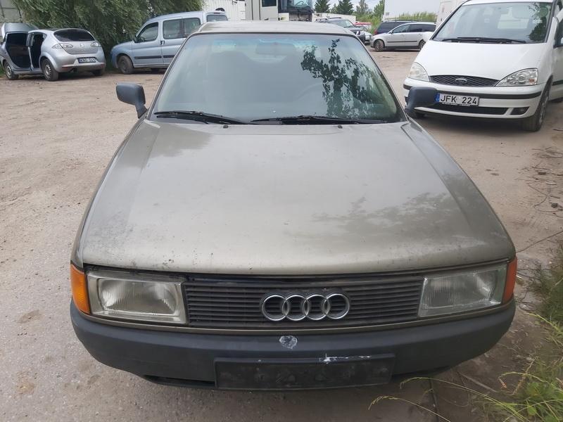 Naudotos automobiliu dallys Foto 3 Audi 80 1988 1.8 Mechaninė Sedanas 4/5 d. Zalia 2020-6-30 A5390