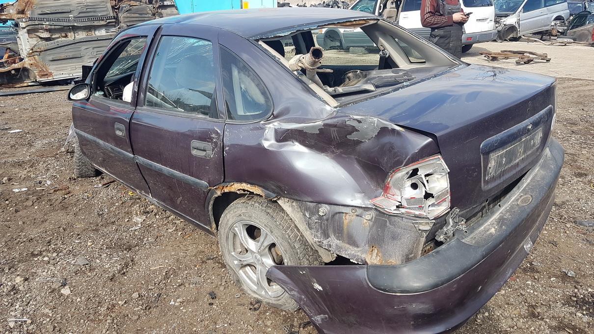 Naudotos automobilio dalys Opel VECTRA 1996 1.7 Mechaninė Sedanas 4/5 d. Violetine 2017-4-20