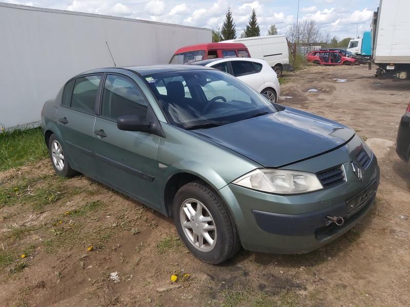 Naudotos automobilio dalys Renault MEGANE 2006 1.5 Mechaninė Sedanas 4/5 d. Zalia 2020-5-12