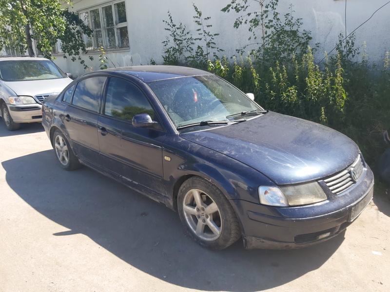 Подержанные Автозапчасти Volkswagen PASSAT 1999 1.9 машиностроение седан 4/5 d. синий 2020-7-29