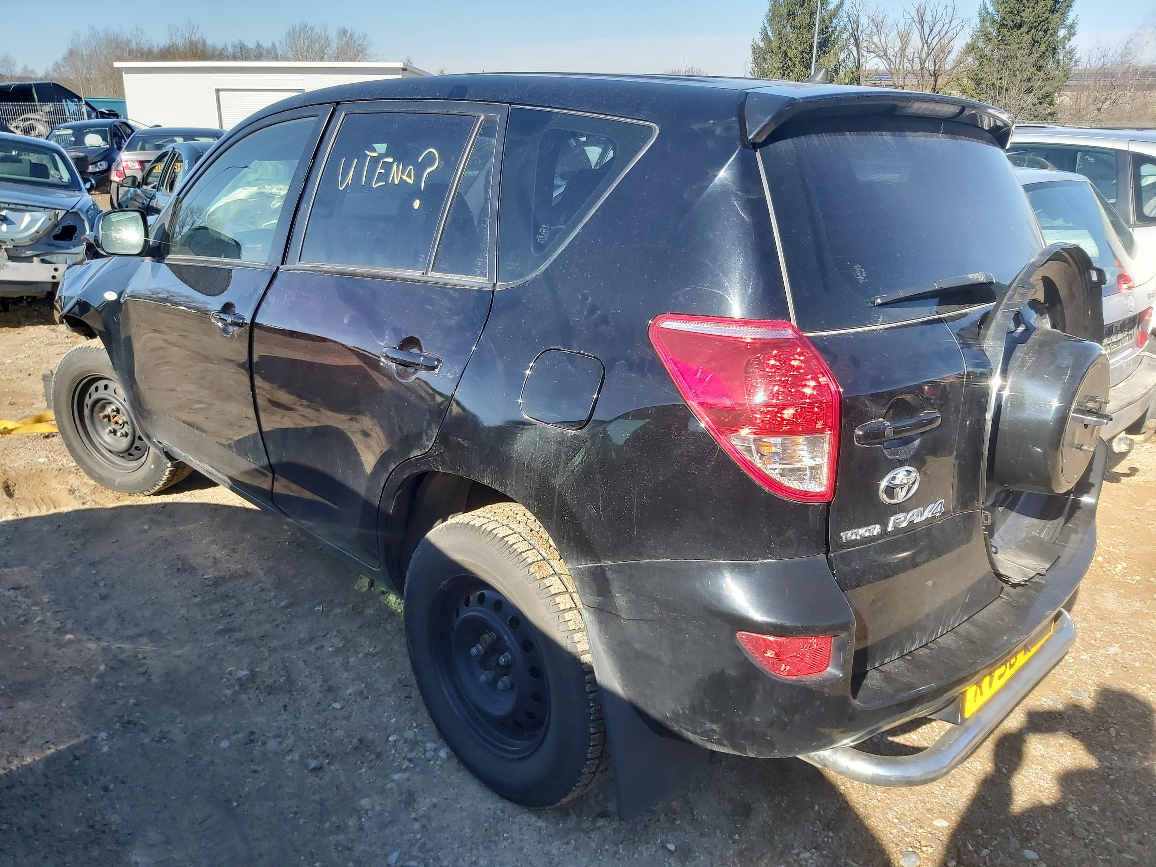 Подержанные Автозапчасти Foto 6 Toyota RAV-4 2006 2.2 машиностроение напрямик 4/5 d. черный 2020-3-24 A5153