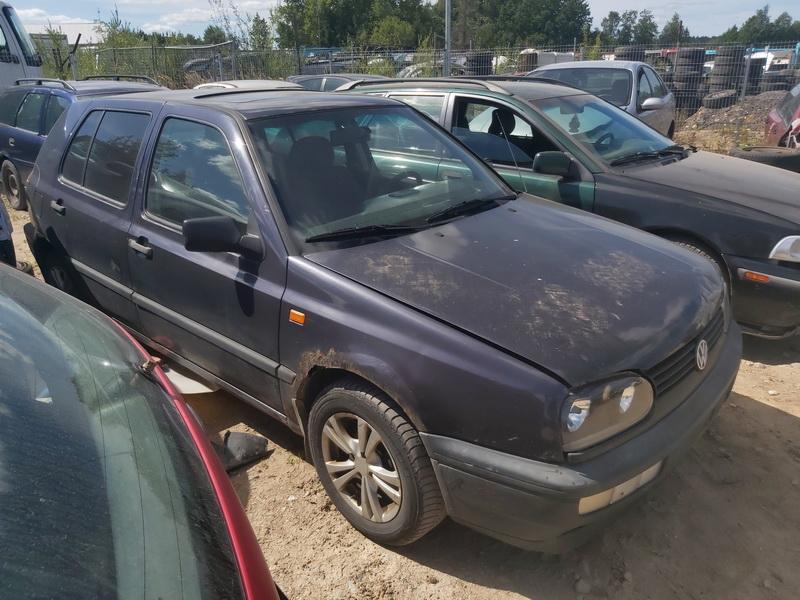 Подержанные Автозапчасти Volkswagen GOLF 1995 1.9 машиностроение хэтчбэк 4/5 d. фиолетовый 2020-8-10