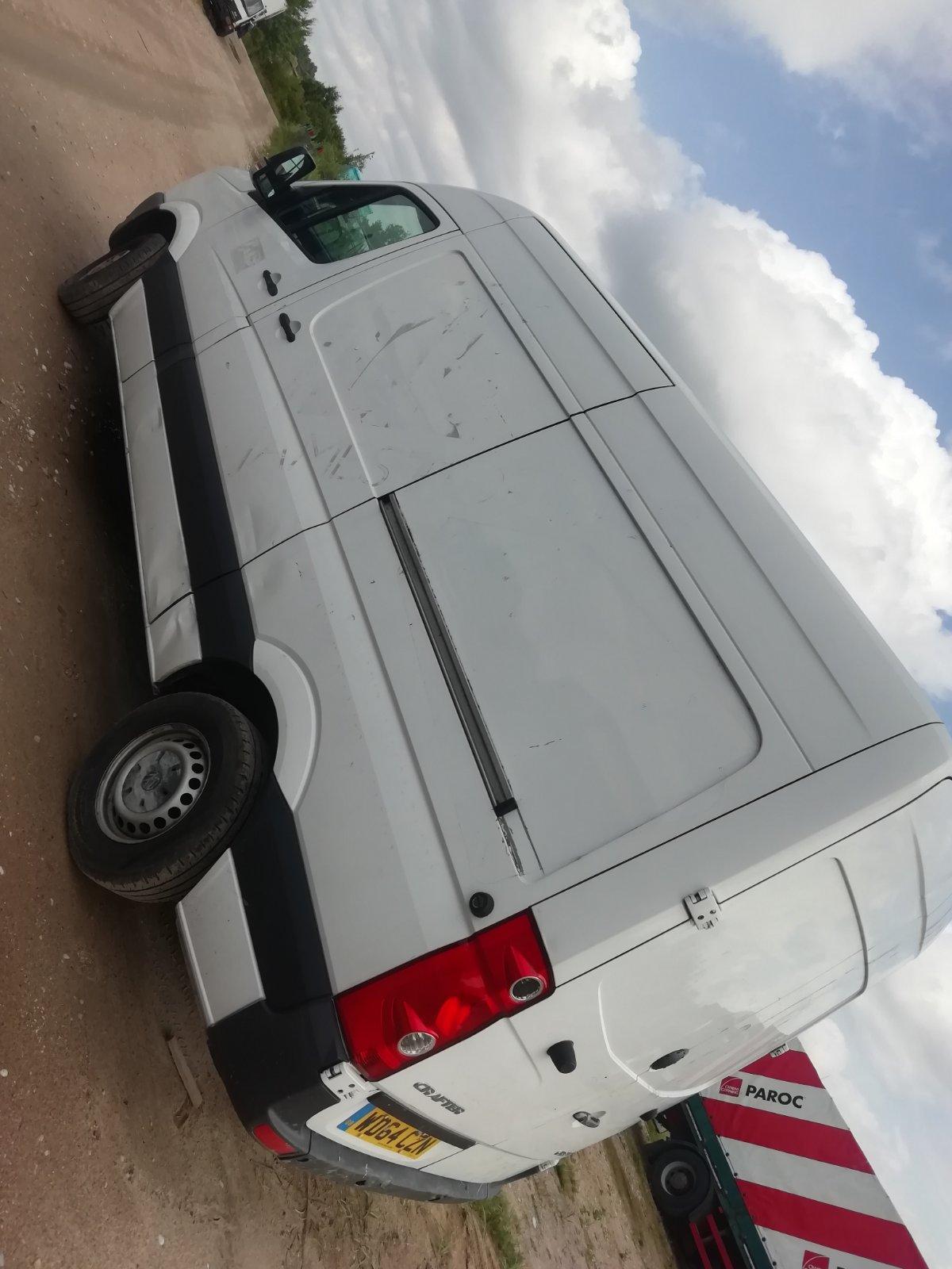 Naudotos automobilio dalys Volkswagen CRAFTER 2014 2.0 Mechaninė Krovininis mikroautobusas 2/3 d. Balta 2020-7-28