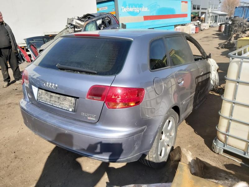 Naudotos automobiliu dallys Foto 6 Audi A3 2006 2.0 Automatinė Hečbekas 4/5 d. Sviesiai pilka 2020-3-25 A5157