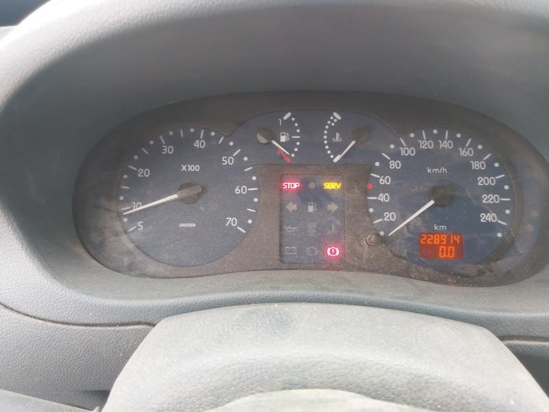 Naudotos automobiliu dallys Foto 7 Renault KANGOO 2001 1.9 Mechaninė Komercinis 4/5 d. Melyna 2020-9-14 A5662