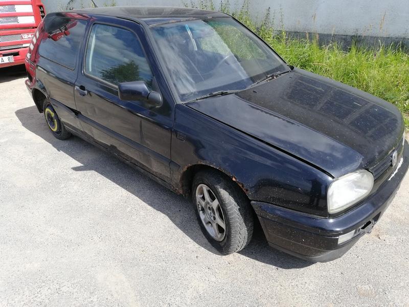Naudotos automobilio dalys Volkswagen GOLF 1995 1.9 Mechaninė Hečbekas 2/3 d. Juoda 2019-8-05