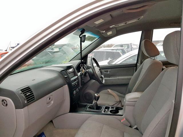 Naudotos automobilio dalys Kia SORENTO 2004 2.5 Mechaninė Visureigis 4/5 d. Sidabrine 2019-12-13