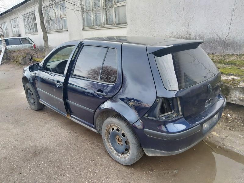 Naudotos automobiliu dallys Foto 6 Volkswagen GOLF 1998 1.9 Mechaninė Hečbekas 4/5 d. Melyna 2020-3-19 A5141