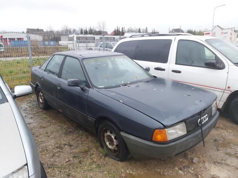 Подержанные Автозапчасти Foto 1 Audi 80 1987 1.8 машиностроение седан 4/5 d. синий 2020-11-18 A5834